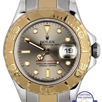 Rolex Ladies Rolex Yacht-Master 69623 T 29mm 18K Two Tone Gold...
