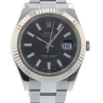 Rolex Datejust II 116334 Watch with Stainless Steel Bracelet...
