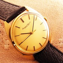 IWC 18K Gold vintage Mens cal 403 International Watch Co 1974