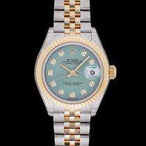 Rolex Lady-Datejust Yellow gold 28mm Green United States of America, California, San Mateo