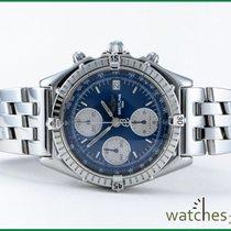 Breitling Chronomat Windrider Pilotband blau