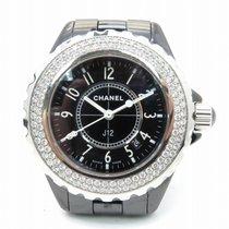 香奈儿 J12 Watch Stainless Steel Quartz Black 8741 H0949