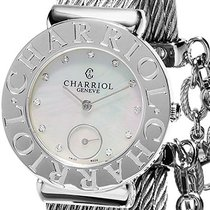 Charriol St-Tropez new Quartz Watch with original box and original papers ST30CS.560.016