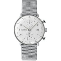 Junghans Chronometer 40mm Automatic new max bill Chronoscope White