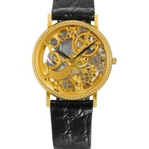 Universal Genève 18k yellow gold skeletonized automatic