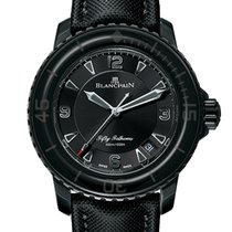 Blancpain Fifty Fathoms Acero 45mm Negro