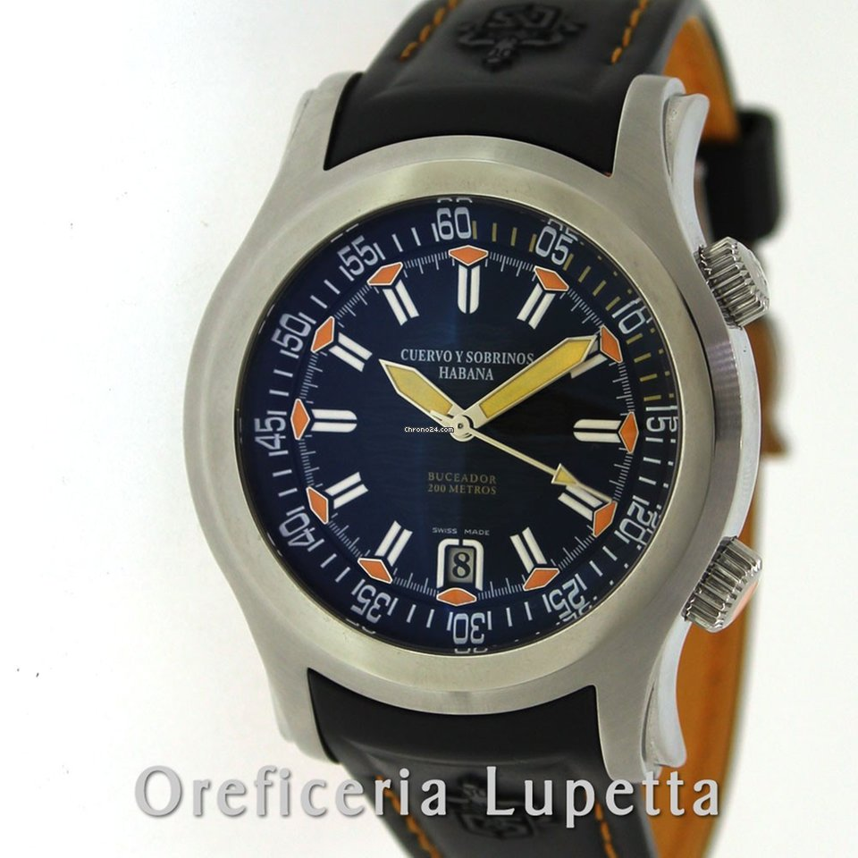 634e95c2f Relojes Cuervo y Sobrinos de segunda mano - Compare el precio de los relojes  Cuervo y Sobrinos