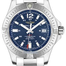 Breitling Colt Automatic Steel 41mm Blue United States of America, New York, Airmont