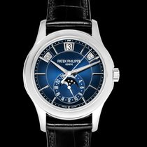 Patek Philippe Annual Calendar White gold 40mm Blue United States of America, California, San Mateo