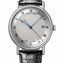 Breguet new Manual winding Skeletonized White gold