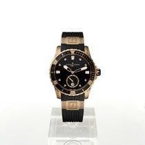 Ulysse Nardin Pозовое золото Автоподзавод Чёрный 40mm новые Lady Diver