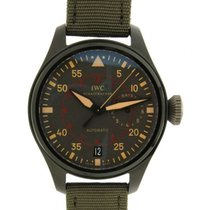 IWC Big Pilot Top Gun Miramar Titanium 48mm Groen Arabisch