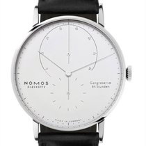 NOMOS Lambda White gold 42mm Silver