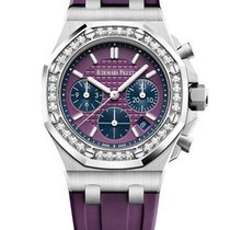 Audemars Piguet Royal Oak Offshore Lady Steel Pink United States of America, Florida, North Miami Beach