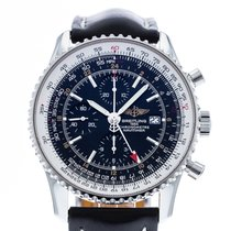 Breitling Navitimer World Сталь 46mm Чёрный