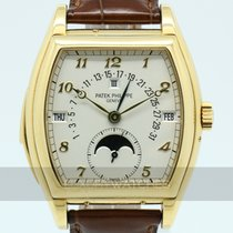 Patek Philippe Minute Repeater Perpetual Calendar Or jaune 46.4mm Blanc