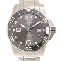Longines Conquest Steel 43mm Grey