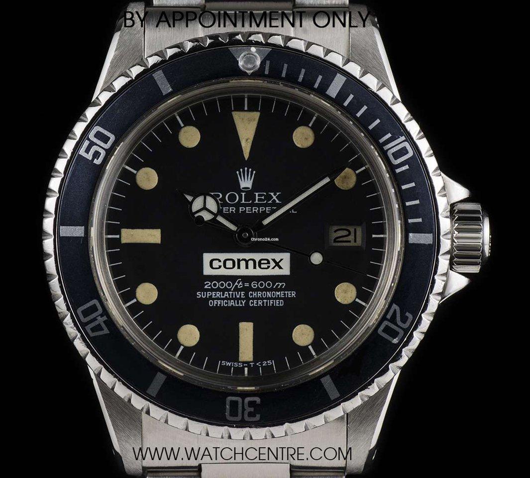 quality design f870d ac44b Rolex Comex Sea-Dweller1665