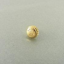 Rolex Datejust Day-date Krone Gelbgold Yellow Gold Crown 6 Mm...