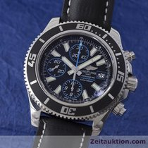 Breitling Superocean Chrono II Chronograph Stahl Herrenuhr A13341