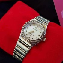 Omega Ladies Constellation Diamond Bezel 6563/875