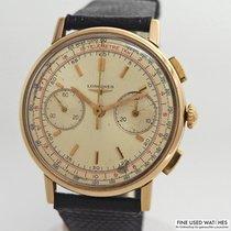 ロンジン (Longines) Vintage Chronograph 30CH 18k/750/- Gold