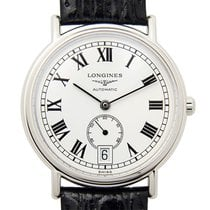 Longines Presence Stainless Steel White Automatic L4.804.4.11.2