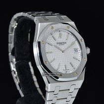 "Audemars Piguet ROYAL OAK ""JUMBO"" EXTRAPIATTO Ref. 15202ST..."