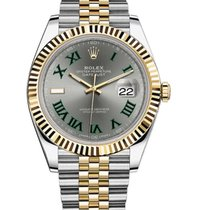 Rolex Datejust II Gold/Steel 41mm Grey Roman numerals United States of America, California, Los Angeles