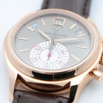 Patek Philippe Annual Calendar Chronograph Rose gold 40.5mm Grey No numerals United States of America, Texas, Houston