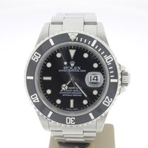 Rolex Submariner Date Steel 40mm BlackDial (BOXonly2002)MINT