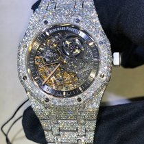 Audemars Piguet Royal Oak Custom Diamond (VERY FLASHY)
