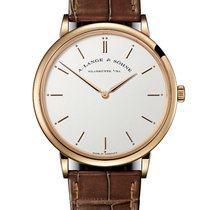 A. Lange & Söhne Saxonia Rose gold 40mm No numerals United States of America, New York, New York