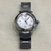 Cartier Pasha C Steel 35mm Silver Arabic numerals