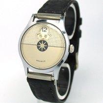 Benrus Vintage Benrus Stahl/Lederband Handaufzug Manual...
