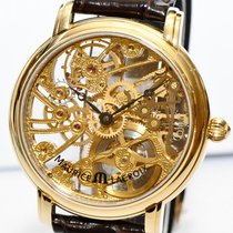 Maurice Lacroix Masterpieces Squelette Gold Papiere MP7048