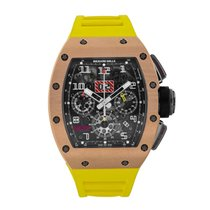 Richard Mille Felipe Massa Flyback Chronograph Rose Gold...