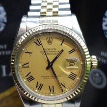 Rolex 16013 Or/Acier 1991 Datejust 36mm occasion
