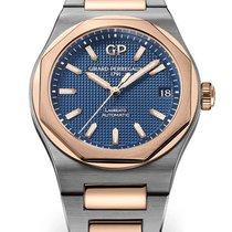 Girard Perregaux Laureato 42mm Bleu Sans chiffres