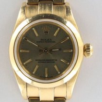 Rolex Oyster Perpetual (Submodel) occasion 25mm Or jaune