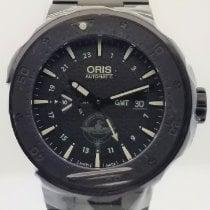 Oris Force Recon GMT Titanium 49mm Black No numerals