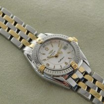 Breitling Callistino Gold/Steel 29mm White Arabic numerals
