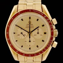 Omega Oro amarillo Cuerda manual Oro Sin cifras 41mm usados Speedmaster Professional Moonwatch