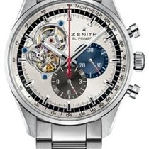 Zenith El Primero Chronomaster neu 2020 Automatik Chronograph Uhr mit Original-Box und Original-Papieren 03.2040.4061/69.M2040
