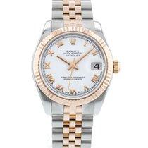 Rolex Lady-Datejust Acciaio 31mm Bianco