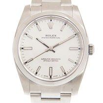 Rolex Oyster Perpetual 34 nuevo Automático Reloj con estuche y documentos originales 114200WT_O