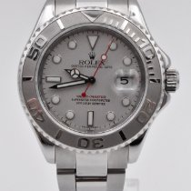 Rolex Yacht-Master 40 Steel 40mm Silver No numerals United States of America, Texas, Houston