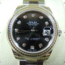 Rolex Datejust, Ref. 178274 - schwarz Diamant ZB/Oysterband