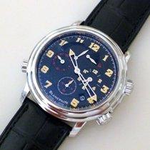 Blancpain Léman Réveil GMT new 2009 Manual winding Watch with original box and original papers 2041A-1130MN