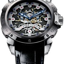Pierre DeRoche new Automatic Display back Small seconds Luminous hands Limited Edition 47,5mm Titanium Sapphire crystal